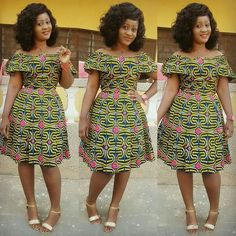 Creative and Stunning Ankara Short Gowns for Beautiful Ladies.Creative and Stunning Ankara Short Gowns for Beautiful Ladies African Print Dress Designs, African Print Dresses, African Print Fashion, Africa Fashion, African Dress, Unique Ankara Styles, Ankara Short Gown Styles, Short Gowns, Ankara Gowns