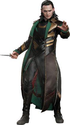 BLOG DOS BRINQUEDOS: Loki Marvel Sexta Escala Figura