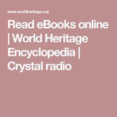 Read eBooks online | World Heritage Encyclopedia | Crystal radio
