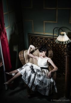 Dress: Mirjam Lehtonen for Revelations Hair and make-up: Kati Suokas Glohair Location: Sokos Hotel Tammer  Photo: Studio Mikaela Löfroth