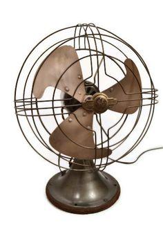General Electric Vortalex Fan 10 Desk Tabletop by RibbonsAndRetro, $99.00