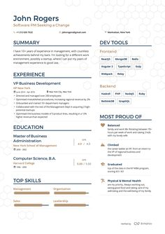 examples of resumes by enhancv sample resume s pinterest cv