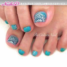 Cute Pedicure Designs, Toenail Art Designs, Cute Toe Nails, Love Nails, Diy Nails, Pedicure Nail Art, Toe Nail Art, Burgundy Acrylic Nails, Feet Nail Design