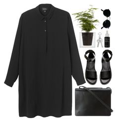 berlin | read description by ffeathered on Polyvore featuring Monki, H&M, BCBGMAXAZRIA, Ray-Ban, Korres and Boskke
