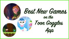Best New Games on the Toon Goggles App Easy Games For Kids, Kid Games, News Games, Live Action, Good News, Gaming, Articles, Apps, Animation