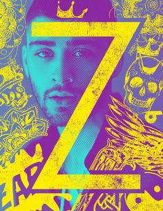 "Zayn Cover Remix: Tattoo – Colorset 03 Every tattoo tells a very personal story. So it is only logical to use them as an overlay for the cover of Zayn's new book ""Z"". #ZbookArt #talenthouse #zayn #creativeinvite #cover #designonarrival #marcushaas"