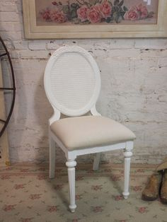 Painted Cottage French Dining or Kitchen Chair by paintedcottages, $295.00