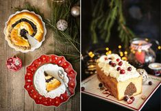 (Ne)tradičný štedrovečerný štedrák, bábovka a florentínky Cheesecake, Desserts, Food, Tailgate Desserts, Deserts, Cheesecakes, Essen, Postres, Meals