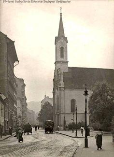 1913. Fő utca, Szent Erzsébet plébániatemplom.