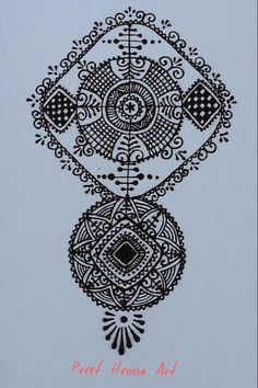 The Big Henna Contest 2014.. My entry for Round 1 Moroccan Henna Design on canvas 30X40cm..Please click <3 Like to vote for me and wish me good luck :)