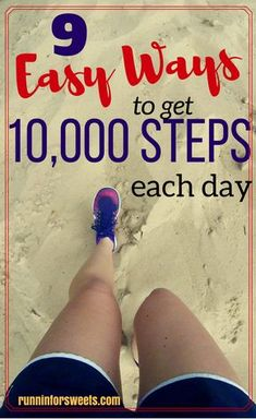 We all know that the recommended activity level is steps a day. This means walking at least 5 miles every single day, which sounds a bit intimidating. Here are 9 clever ways to get steps per day without adding an extra workout. Running For Beginners, Running Tips, Workout For Beginners, Cross Training For Runners, Cross Training Workouts, 10000 Steps A Day, Steps Per Day, At Home Workout Plan, At Home Workouts