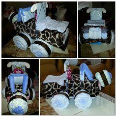 Safari jeep diaper cake Jeep Diaper Cake, Diaper Cakes, Safari Jeep, Baby Showers, Cake Ideas, Shower Ideas, Baby Shower Gifts, Bridal Shower, Future