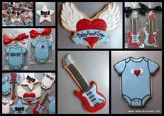 redbudcookies rock star baby baby shower rock star ideas 1024x724