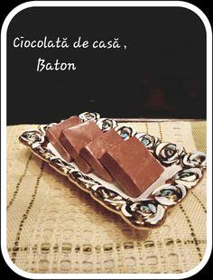 diana's cakes love: Ciocolată de casă, baton