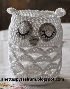 These … - Easy Yarn Crafts Owl Crochet Patterns, Crochet Owls, Thread Crochet, Crochet Flowers, Knit Crochet, Knitting Patterns, Crochet Kitchen, Crochet Home, Crochet Gifts