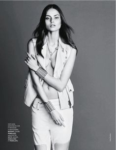 LITHUANIAN BEAUTY... AISTE REGINA KLIVECKAITE FOR ELLE FRANCE