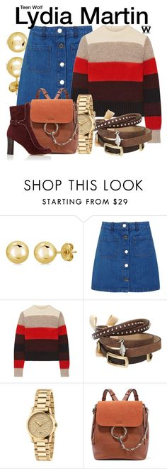 """""""Teen Wolf"""" by wearwhatyouwatch ❤ liked on Polyvore featuring BERRICLE, Miss Selfridge, rag & bone, TOKYObay, Gucci, Chloé, Derek Lam and television"""