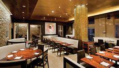 rustic restaurant designs photos | Restaurant design exudes rustic elegance