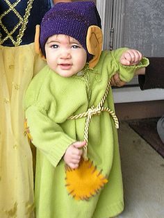 DIY Costume for Dopey from Snow White and the Seven Dwarves