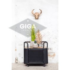Trolley Gaas Small Zwart