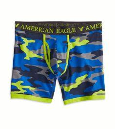American Eagle Blue Camo Sport Boxer