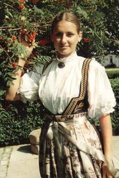 Folk costume of Cieszyn, Poland