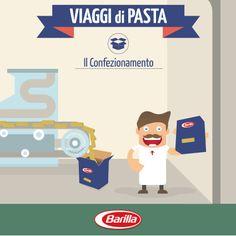 Le confezioni della pasta Barilla sono il nostro biglietto da visita: per questo cerchiamo di migliorare i nostri imballi e di renderli sempre più sostenibili e sicuri.
