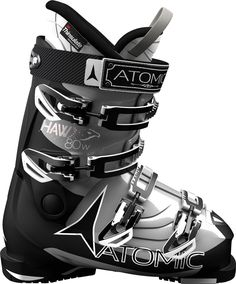 Salomon XMax 100 Ski Boots in Red Black (25.5)