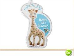 Iro Kids, βρεφικό πολυκατάστημα ΗΡΩ-Baby on Board σήμα με φωτάκια