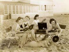 músicas e praia!