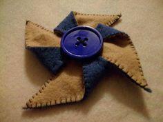 Double sided pinwheel