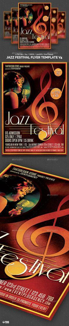 Retro Vintage Indie Concert Flyer Poster Concert Flyer