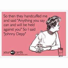 66101fb1 Johnny Depp LMAO Haha Funny, Funny Cute, Hilarious Stuff, I Love To Laugh