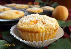 AranyTepsi: Sárgabarackos-joghurtos muffin Torte Cake, Muffins, Ale, Sweets, Cookies, Chocolate, Baking, Breakfast, Food