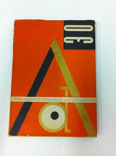 Cover of Art Directors Club 30th annual by Ladislav Sutnar, 1951.