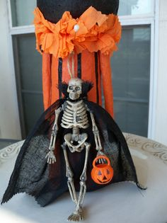 Carl Loves Trick or Treating A Halloween Ornament by JeanKnee, $9.00