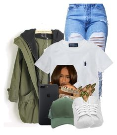 """""""Untitled #2844"""" by alisha-caprise ❤ liked on Polyvore featuring Ralph Lauren and adidas"""
