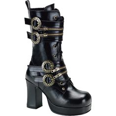 steampunk boots