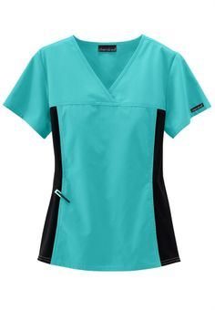 Cherokee Flexibles -crossover scrub top.
