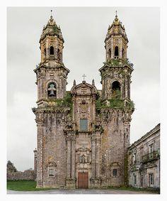 Markus Brunetti: From the series Facades 7. Sobrado dos Monxes, Monasterio de Santa María, 2013–2014