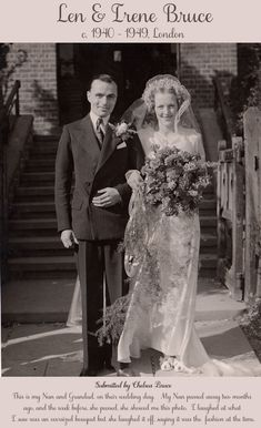 A Preview of 'The Vintage Wedding Gallery' ~ Wedding Photography Through The Decades...