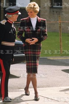 April 18, 1990:  Princess Diana visits Preston Docklands and attends the Association of Chief Police Officers Annual Drug Conference.