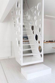 treppen typen design Kragarmtreppe Glas Treppenstufen Wohnung ...