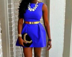 Blue and Gold, Love!