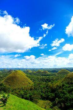 Chocolate Hills - Bohol, Philippines