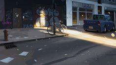 ArtStation - bikesofnyc3, Michal Lisowski