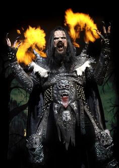 Mr. Lordi is my biggest costume inspiration... since I can't dress like him all year long.