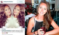 Married 25-year-old's horror after nearly 1,000 online photos of her were stolen to set up fake Twitter and Instagram accounts which were being used by other woman to attract men...  http://www.dailymail.co.uk/news/article-2973481/Married-25-year-old-s-horror-nearly-1-000-online-photos-stolen-set-fake-Twitter-Instagram-accounts-used-women-attract-men.html