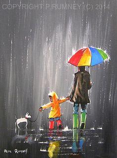 http://www.ebay.co.uk/itm/PETE-RUMNEY-FINE-ART-ORIGINAL-OIL-ACRYLIC-PAINTING-IMPRESSIONIST-UMBRELLA-DOG-NR-/361091051727