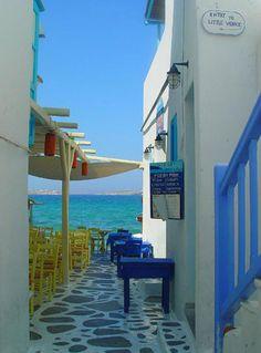 Little Venice, Mykonos Greece Cruise Destinations, Holiday Destinations, Travel Around The World, Around The Worlds, Republic Of Macedonia, Cruise Europe, Lake Beach, Mykonos Greece, Greece Islands